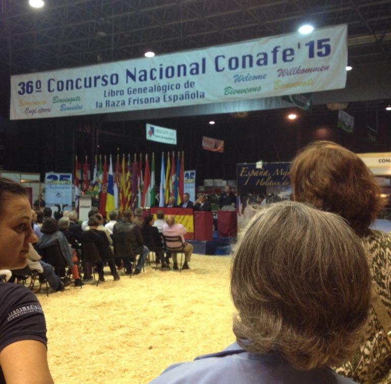 Concurso Nacional de raza Frisona de CONAFE 2015