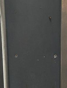 Puerta Izquierda, plancha anti ruido