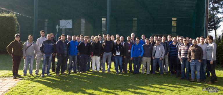 Foto de la reunión de podólogos