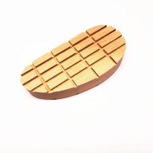Taco madera XL 130mm 10 Uds
